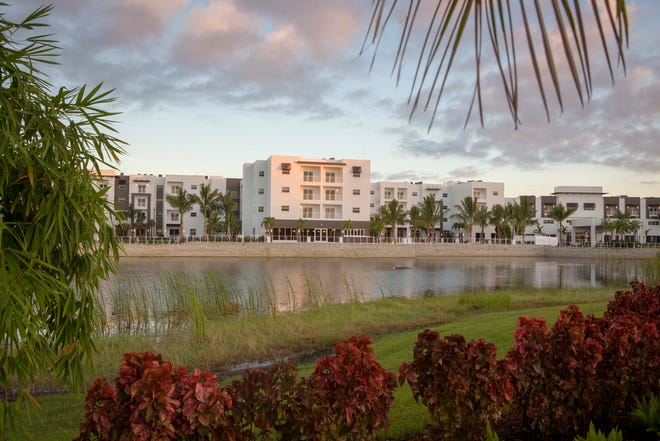 Amavida includes 300 independent living units and 35 memory care units.