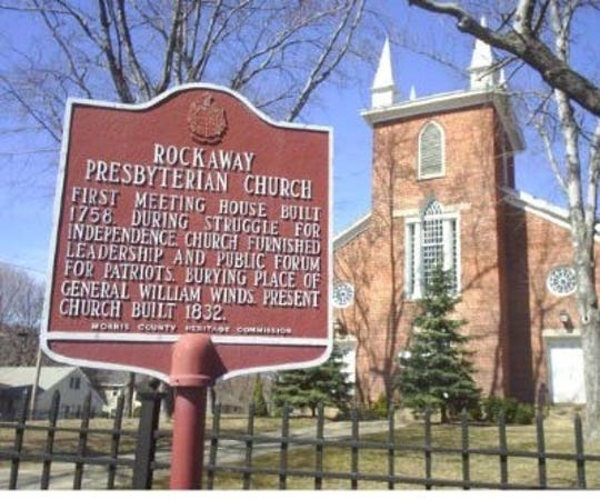 The historical cemetery walk will be held on Nov. 3 at First Presbyterian Church Cemetery in Rockaway.