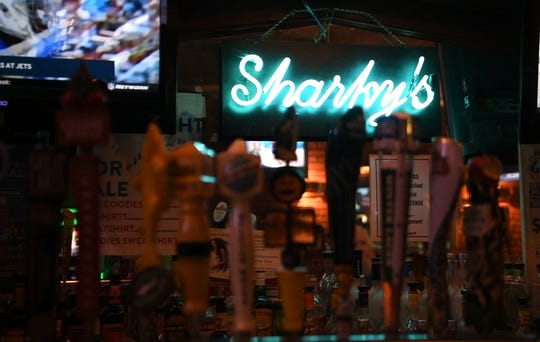 Sharky's Wings and Raw Bar on Highland avenue.