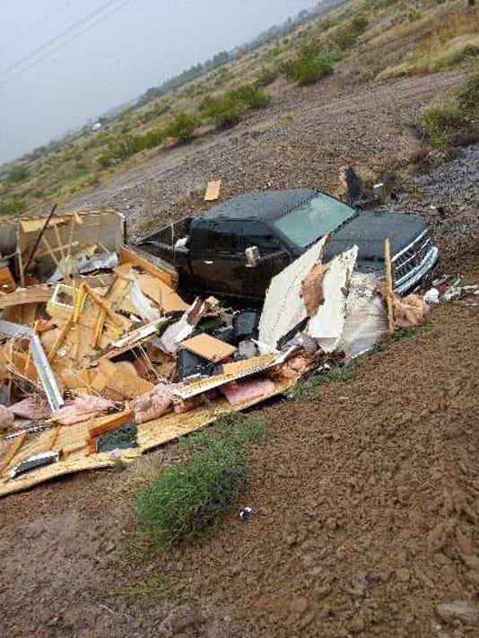 18 10 24 Crashed Truck