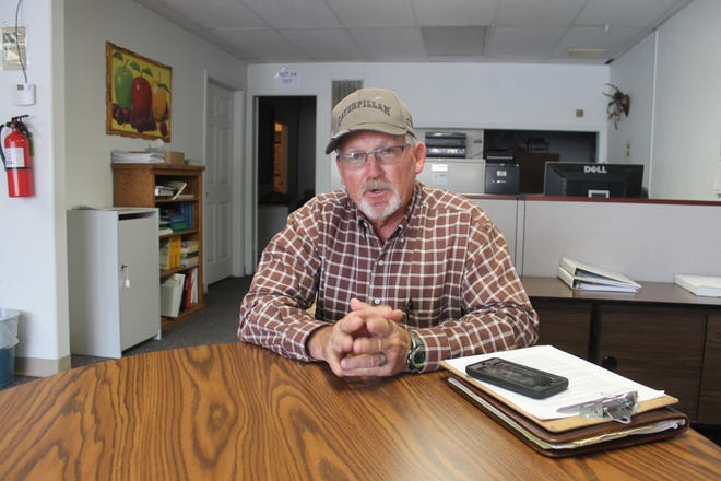 Gerald Matherly, who is running for the District 1 seat on the Otero County Commission, has been a contractor for 40 years and wants to use business principles to help the county.