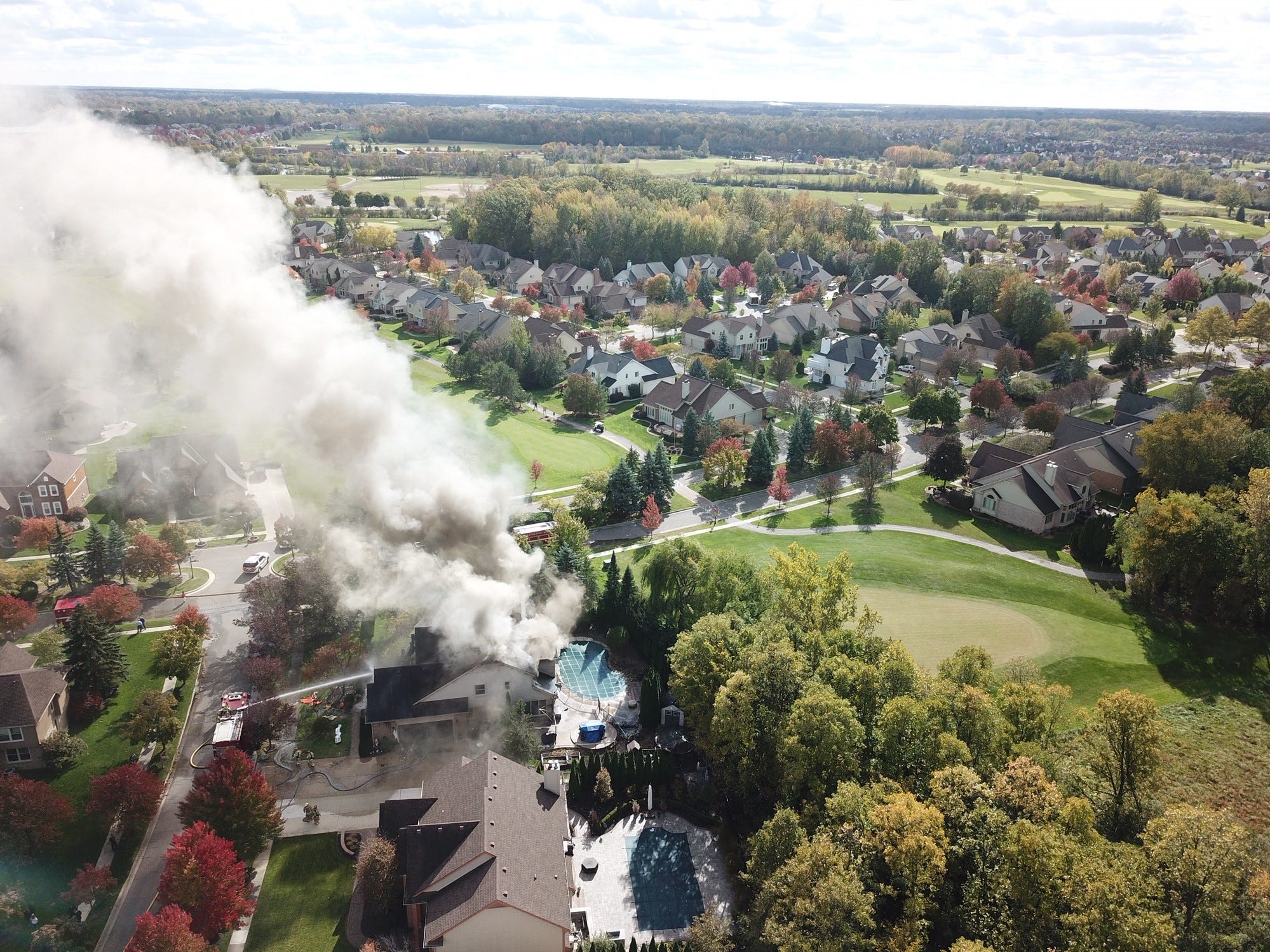 MSP investigating Tuesday Canton Township house fire
