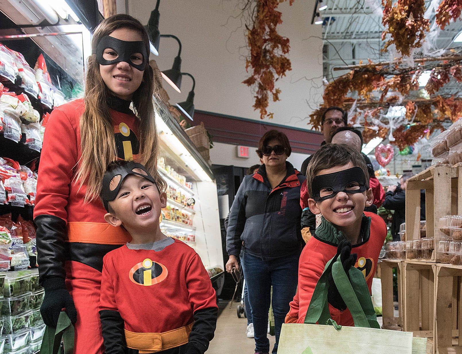 No tricks, just treats as Canton's Holiday Market hosts Halloween bash