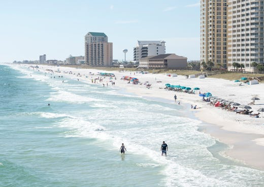 red tide detected at navarre beach could be headed to pensacola beach. Black Bedroom Furniture Sets. Home Design Ideas