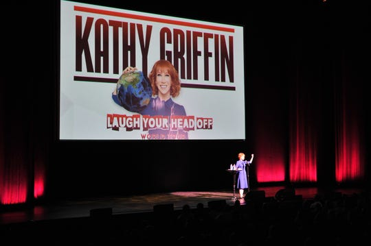 Comedian Kathy Griffin performs on July 19, 2018, in Hollywood, California.