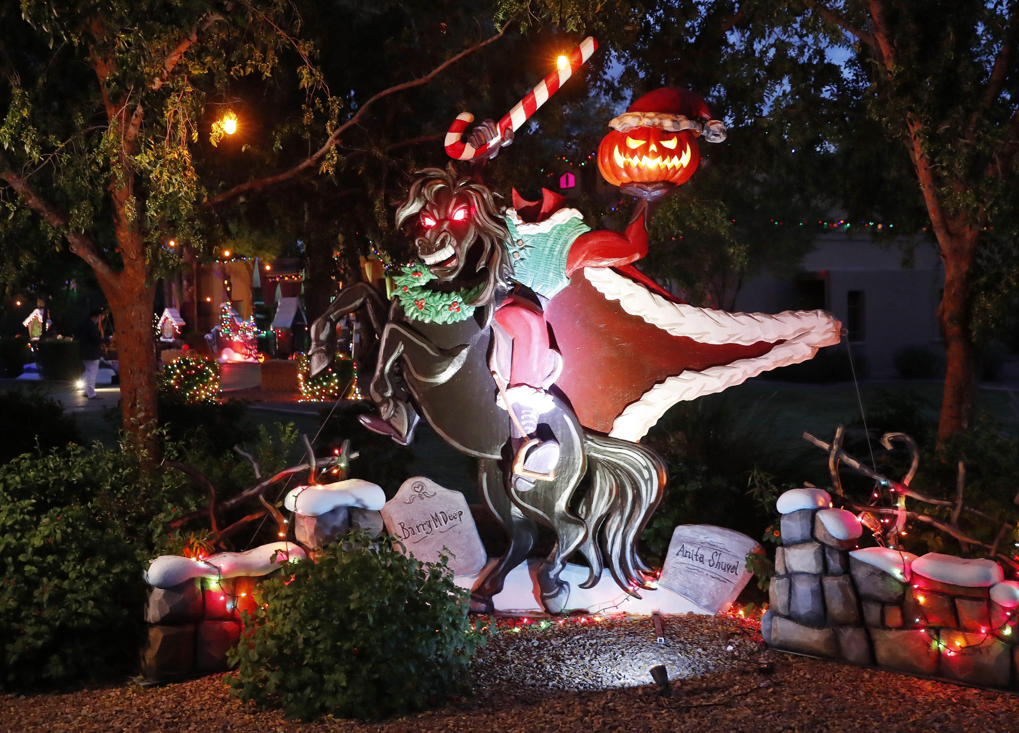 Nightmare Before Christmas\u0027 inspires huge Halloween display