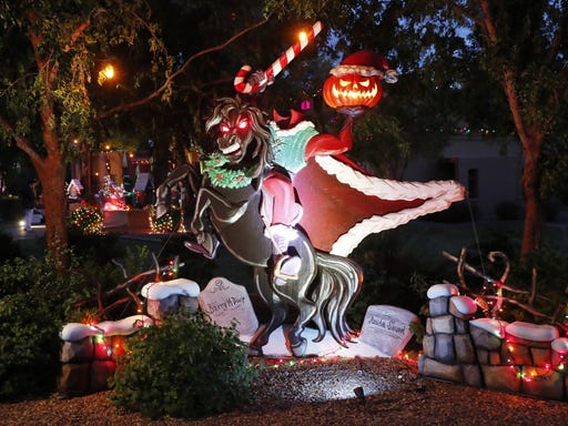 Nightmare Before Christmas Inspires Huge Display