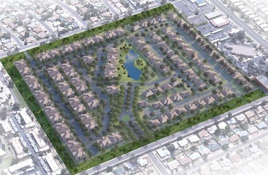 Glen Lakes development