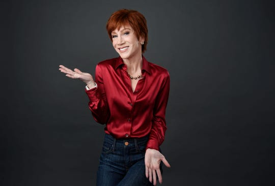 Comedian Kathy Griffin will receive a Comedian of the Year Award at the first Palm Springs International Comedy Festival after finish her Laugh Your Head Off tour.