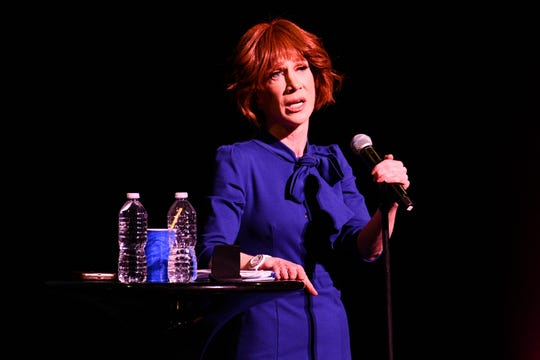 Kathy Griffin performs on July 19, 2018, in Hollywood, California.