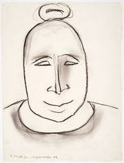 "Drawing featured in the Heard Museum exhibit ""Yua: Henri Matisse and the Inner Arctic Spirit."""