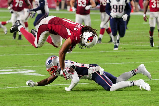 Larry Fitzgerald to the Patriots in a trade? NFL pundits are talking about it ... again.