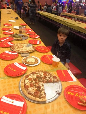 6-year-old, Teddy, had no friends present at his birthday party Sunday, Oct. 21.