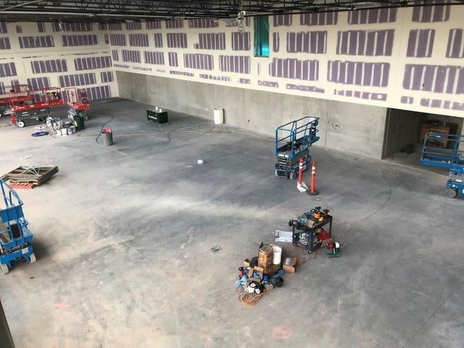 ASU baseball upgrades for the 2019 season at Phoenix Municipal Stadium include an indoor batting facility along the right-field line.