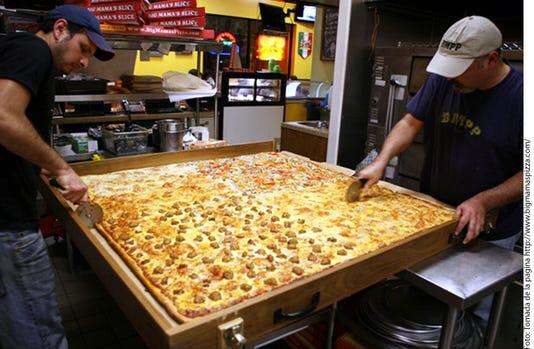 Crean La Pizza Mas Grande Para 490867