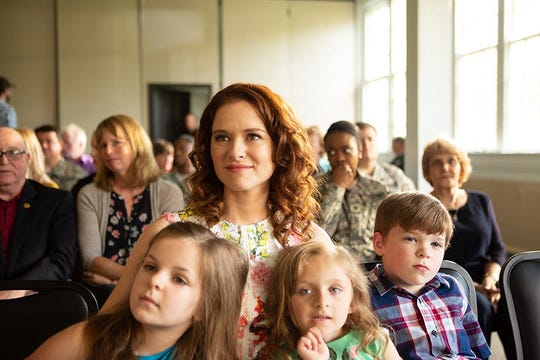 "Sarah Drew stars in ""Indivisible,"" opening Oct. 26 at Regal West Manchester Stadium 13 and R/C Hanover Movies."