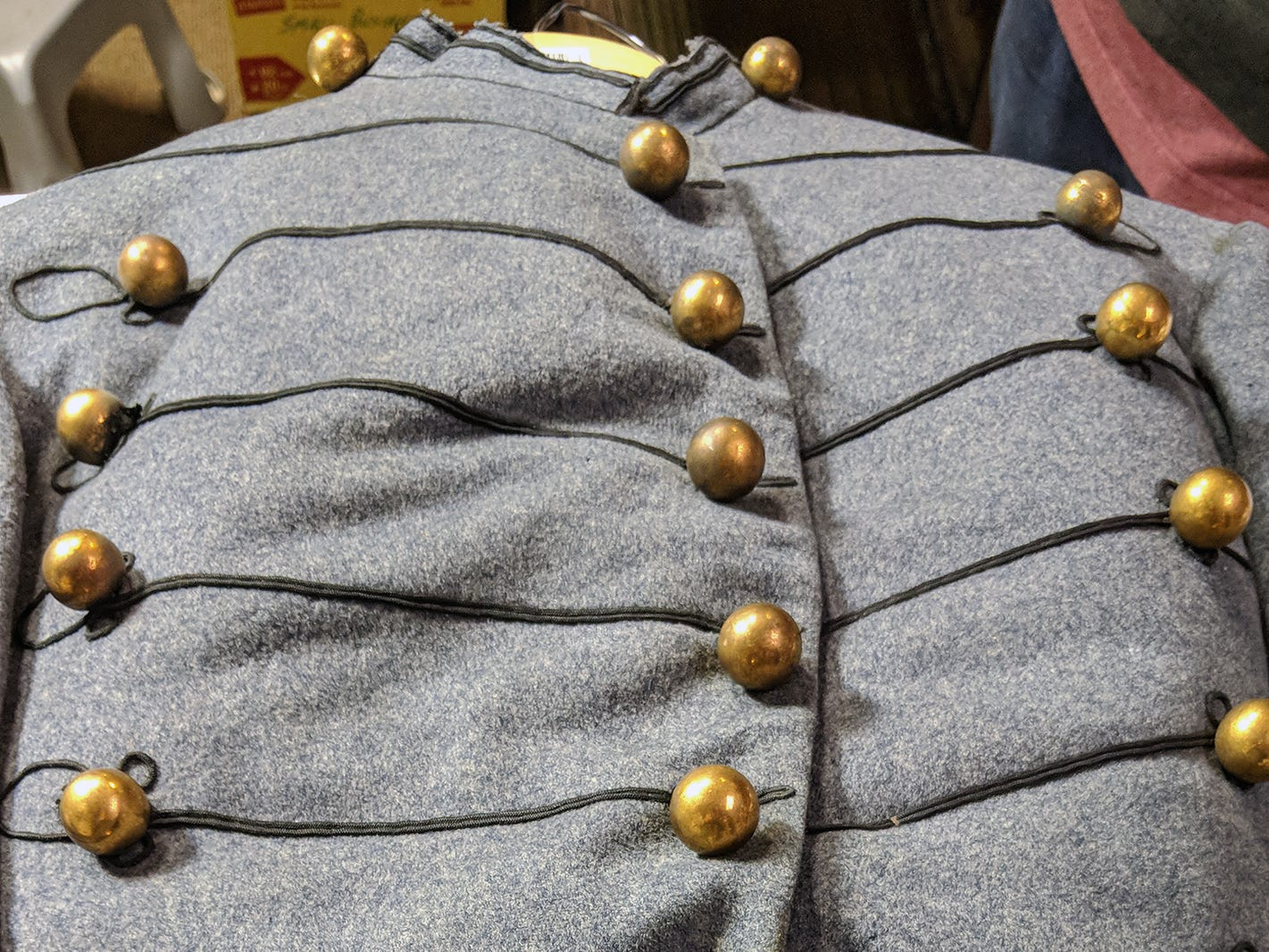 This jacket related to the West Point enrollment and graduation of the Francis Blair III, class of 1877 is to be auctioned during the Blair Family, Fine Arts & Antiques Auction at Keystone Auctions LLC Saturday, October 27, 2018 at 9 a.m.