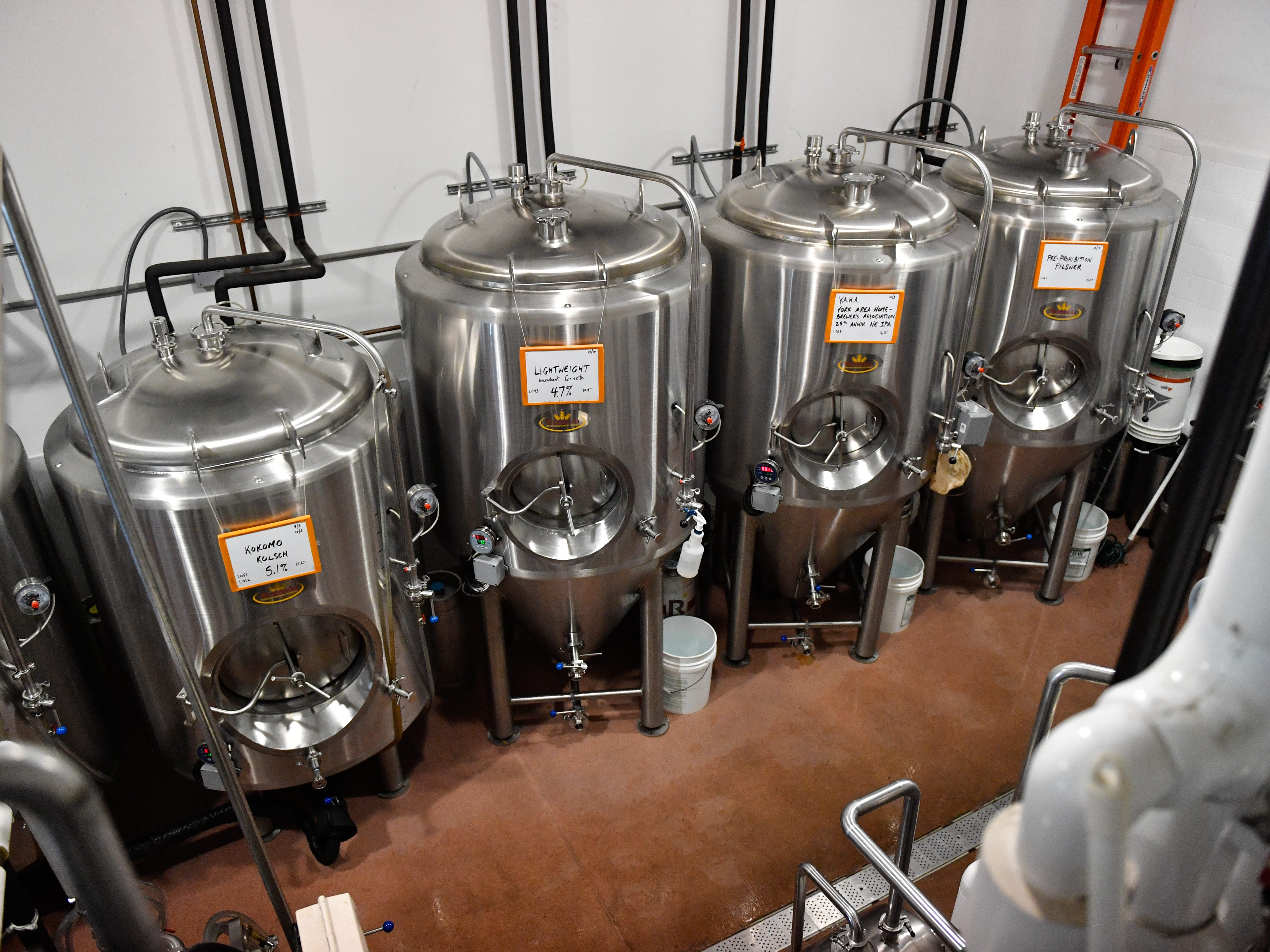 The brewery in Mexitaly is filled with a wide variety of  beers waiting to be enjoyed, October 19, 2018.