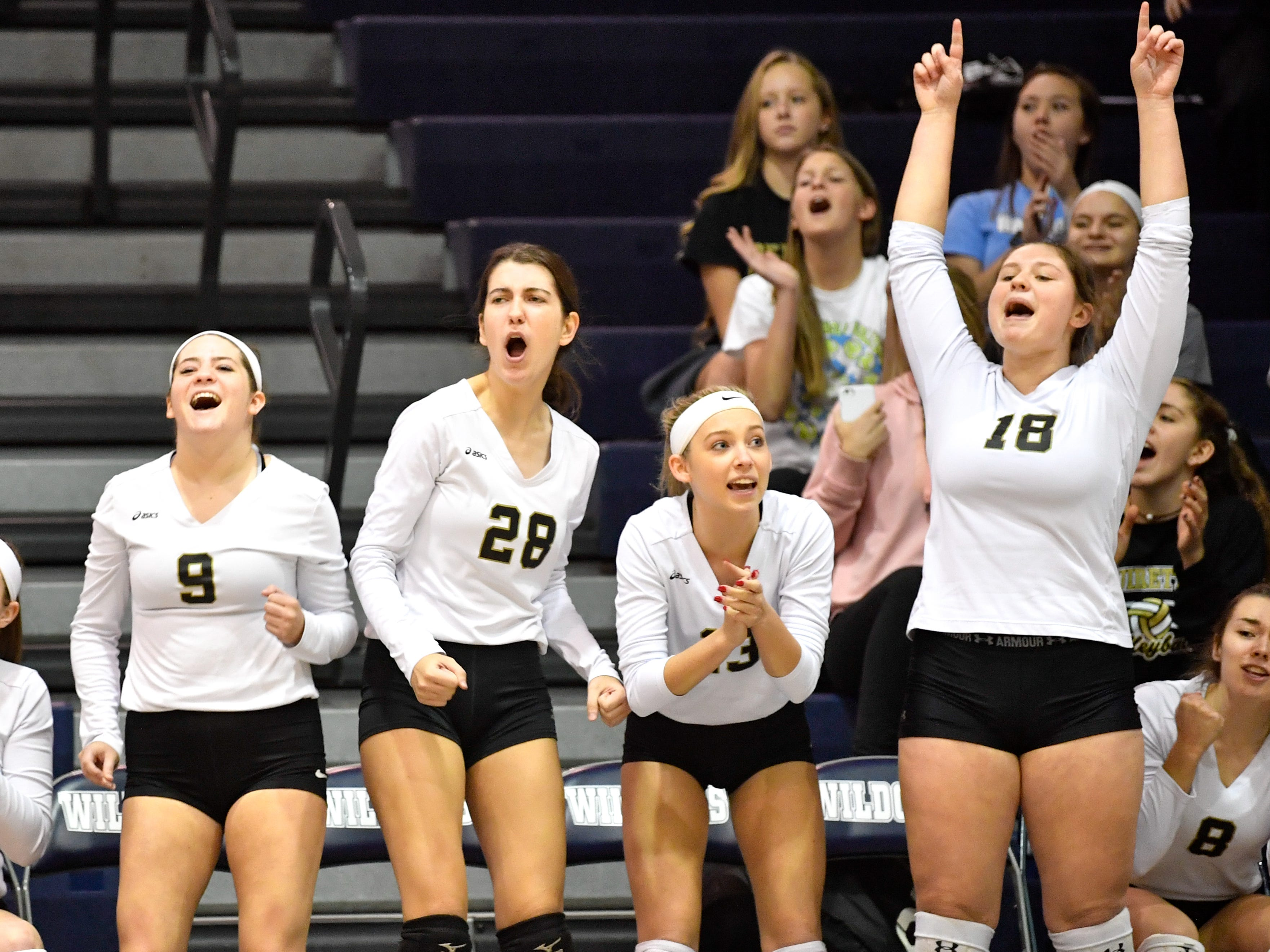 Delone Catholic volleyball survives five-set scare, advances to state quarterfinals