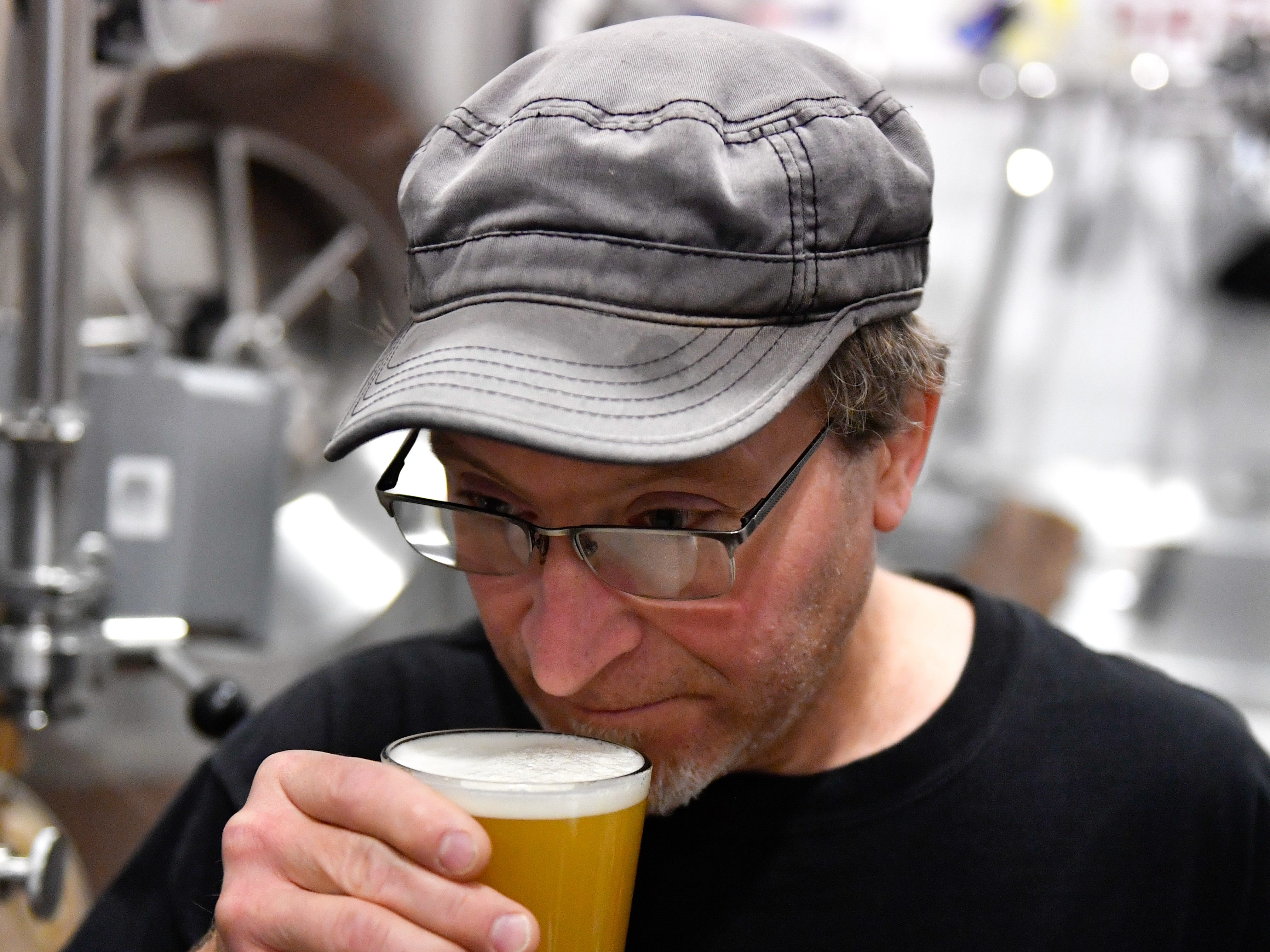 Rick Kunkel can't wait to unveil the New England style IPA. He is certain that it'll be a big hit.