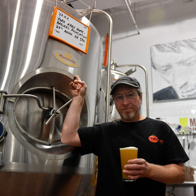 The York Area Homebrewers Association gave Kunkel the confidence to pursue his dream of brewing, so he was more than happy to take on the challenge of making the 25th anniversary beer.