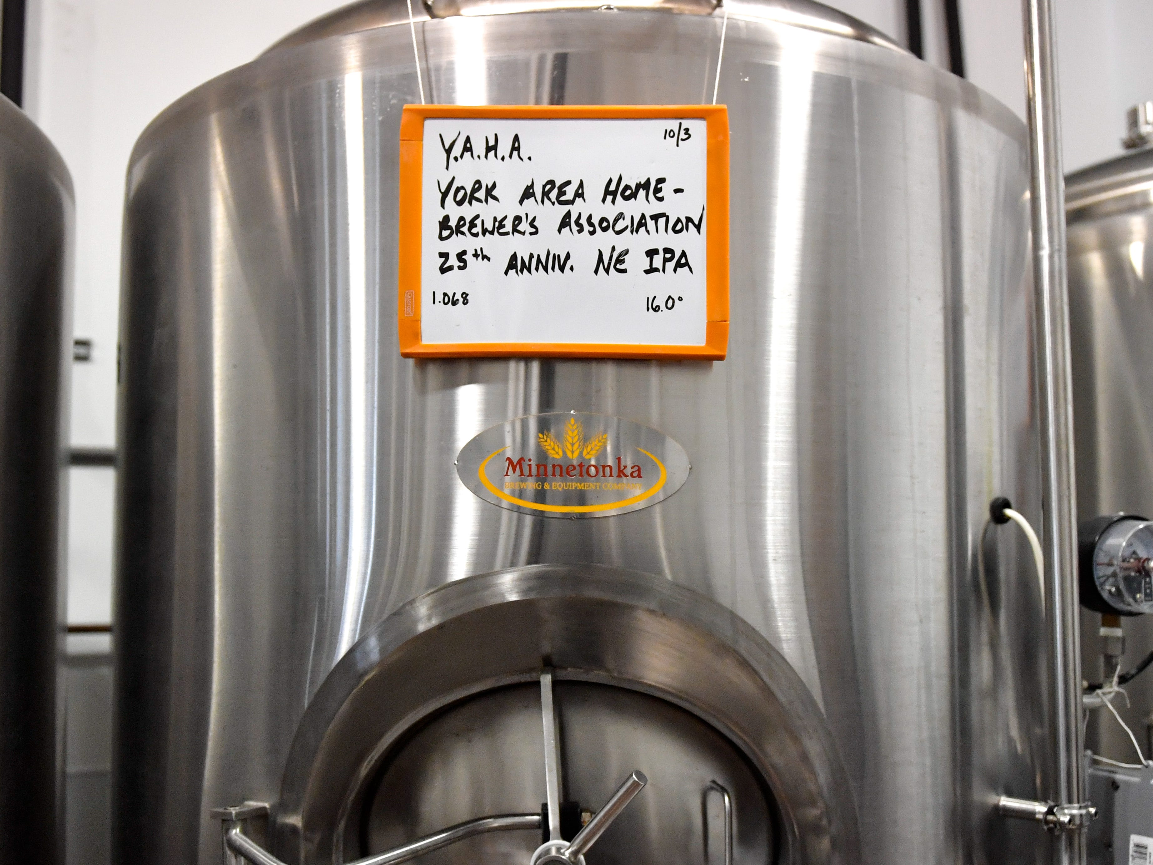 According to Rick Kunkel, lead brewer at MexItaly, the 25th anniversary New England IPA is a burst of many different aromas, October 19, 2018.