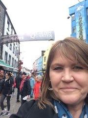 Erin Breen in Galway.