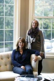 Left, Judy Miller, CEO of Miller & Associates and VP of finance Cassidy Engel.