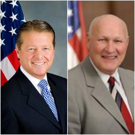 Peter Gallivan, left, and Peter Lambert.