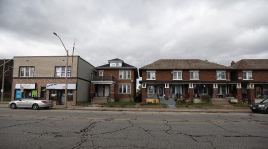 Wynadotte Street in Windsor, Ontario,  runs east and west in the city and runs the range of lower to higher incomes.