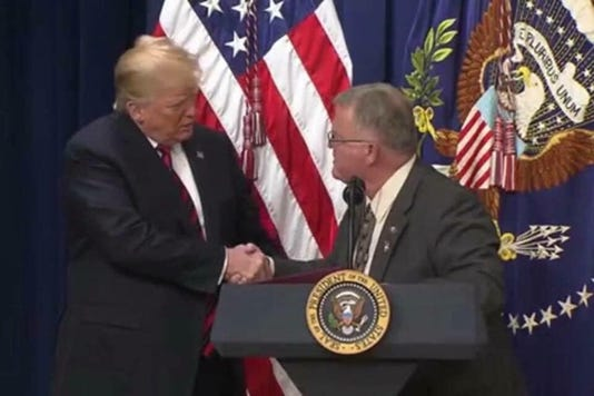 Trump And Baugh