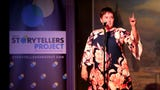 Tamara Neeley tells the story of a new beginning during the Salem Storytellers Project.