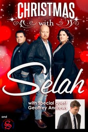 Christmas with Selah: Celebrate the holiday season with Christian vocal trio Selah, 7 p.m., Elsinore Theatre, 170 High St. SE, $21-$37. 503-375-3574 or www.elsinoretheatre.com.