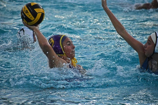 Salinas' girls water polo team is one of three squads to use the Hartnell pools during the fall season.