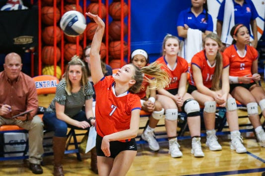 Central Vs Weatherford Volleyball Oct 23 2018