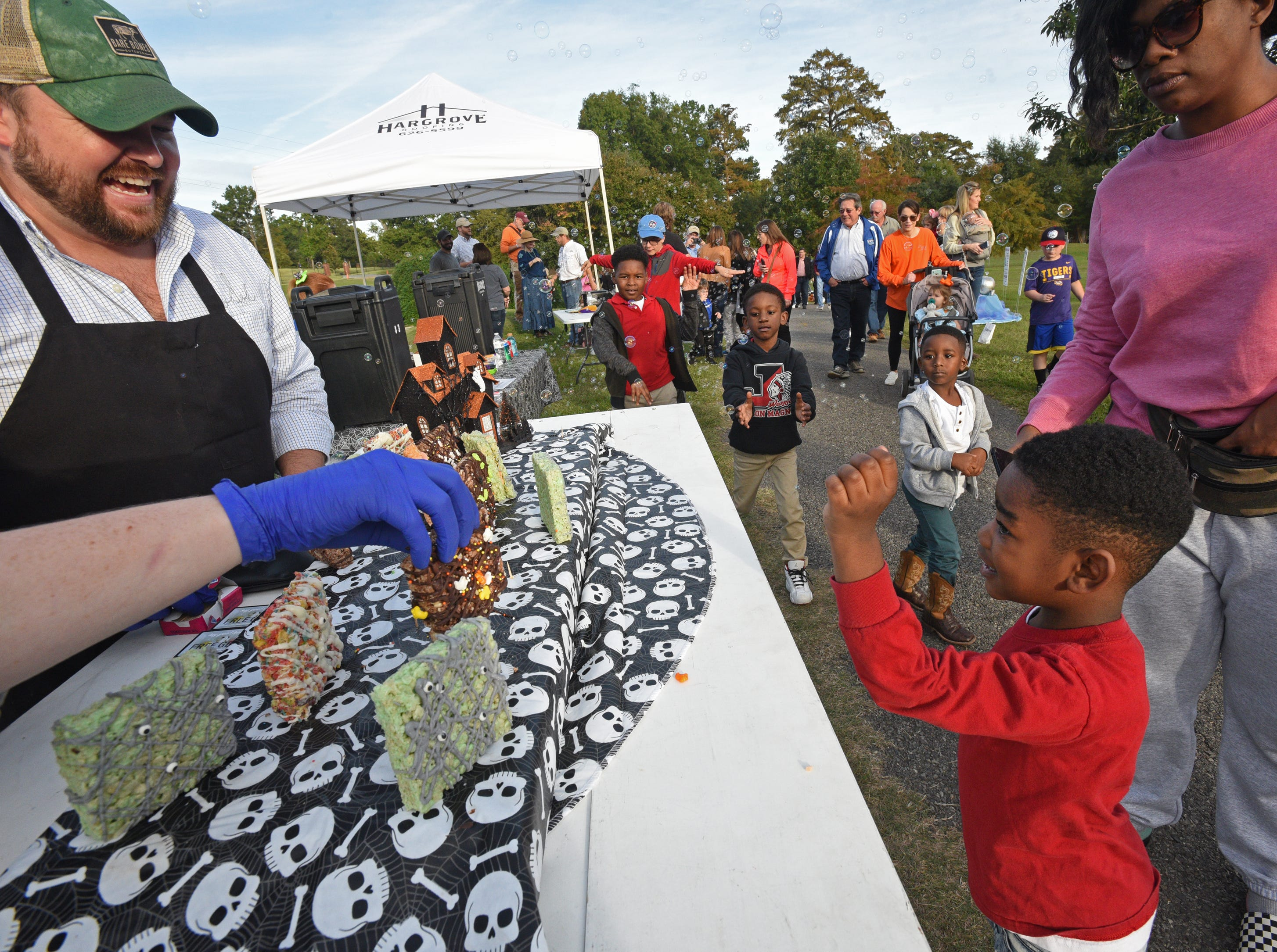 The 26th Annual Pumpkin Shine on Line at Betty Virginia Park.