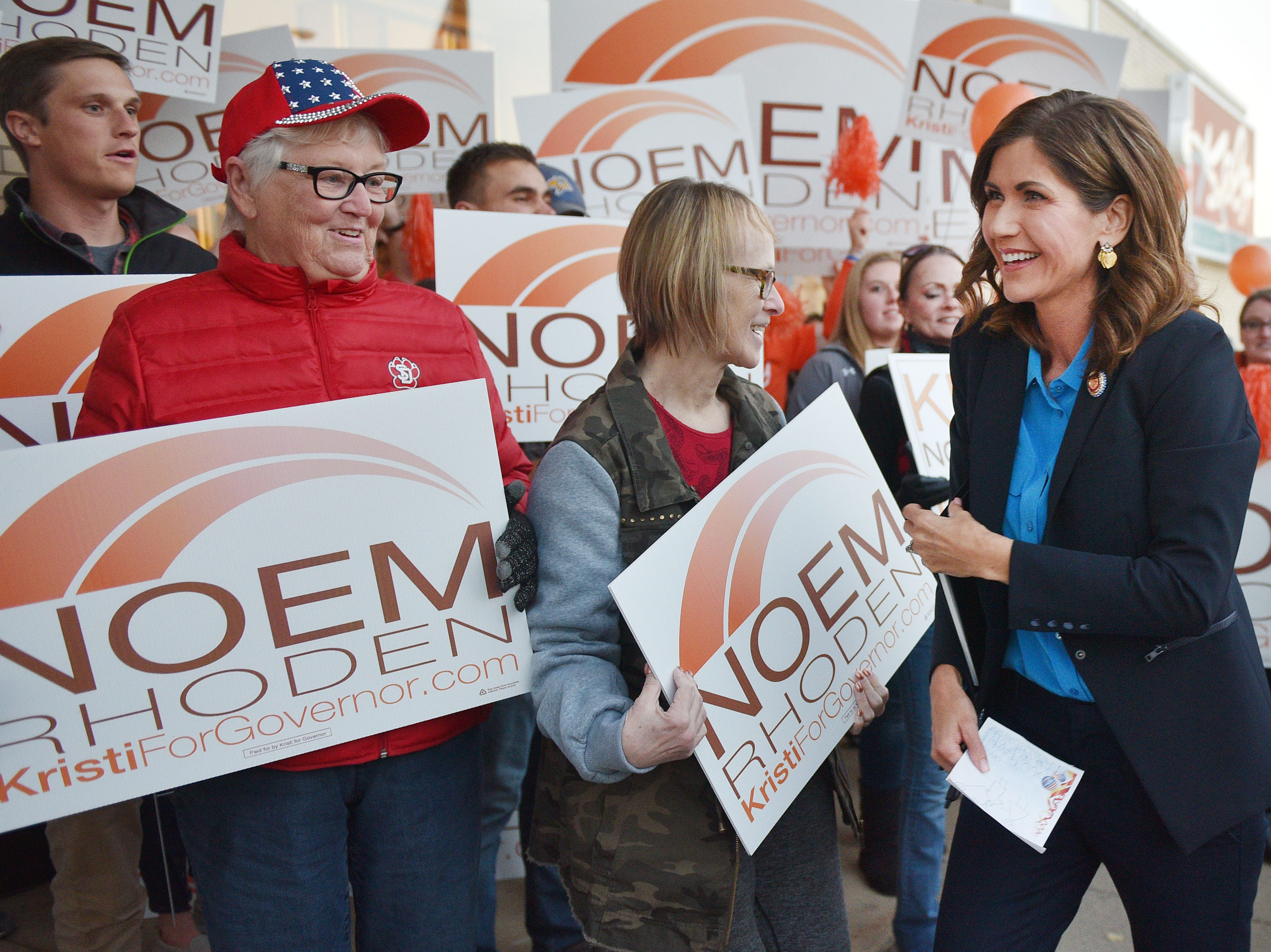Whitney: Kristi Noem makes history, but song remains the same