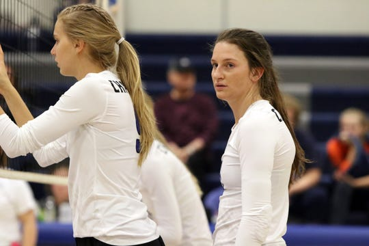 Sioux Falls Christian's Kylee Van Egdom has registered 100 aces, 460 kills and 261 digs this season.