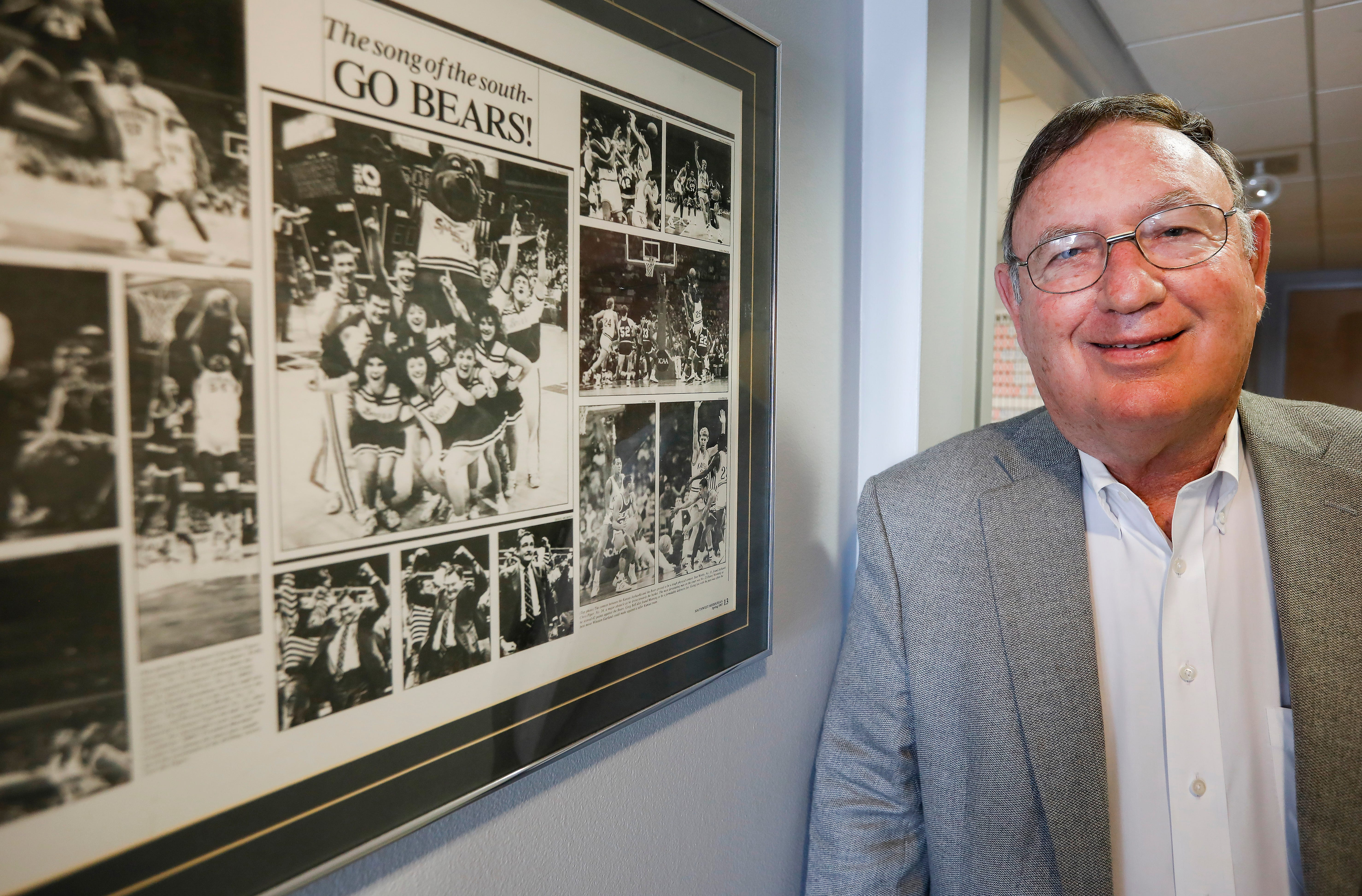 Ed Pinegar is looking forward to the new MSU basketball season.