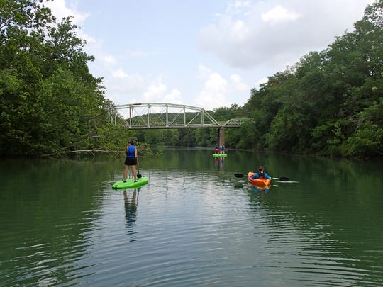 The Springfield Boathouse has  six canoes, 28 kayaks and six stand up paddleboards for rent.