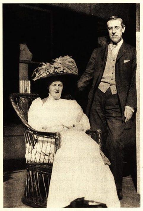 Mary Hulbert Peck And Woodrow Wilson
