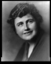Edith Bolling Galt, second wife of Woodrow Wilson