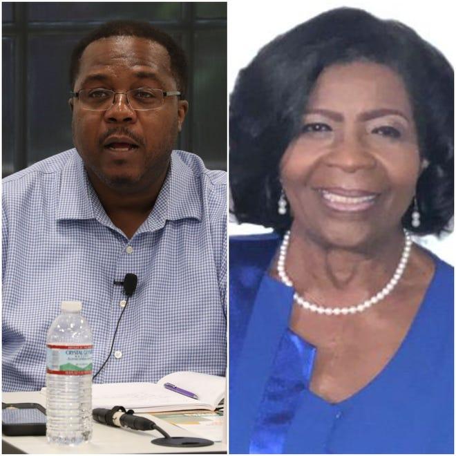 Darryl Jones challenges Maggie Lewis-Butler for School Board.