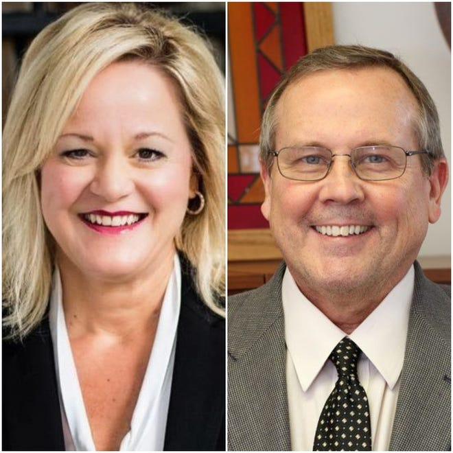Lisa Barclay Fountain and David Frank will face off for a Leon County Circuit Judge's seat in the general election.