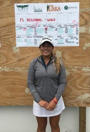 Aucilla Christian senior Megan Schofill won her second straight Region 1-1A title on Wednesday in Sandestin, shooting a 4-under par 68.