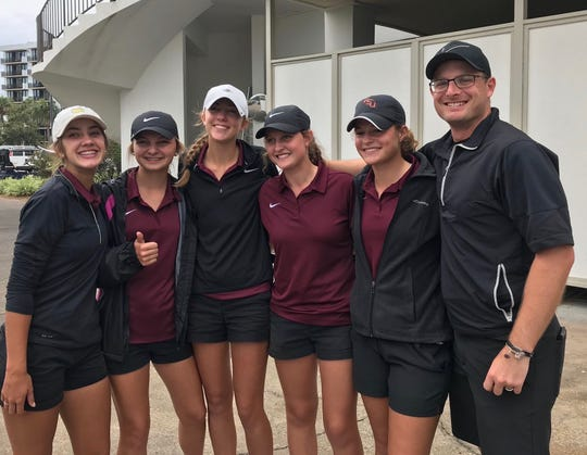 Florida High's girls golf team advanced to the FHSAA state tournament for the first time after finishing second in Region 1-1A.