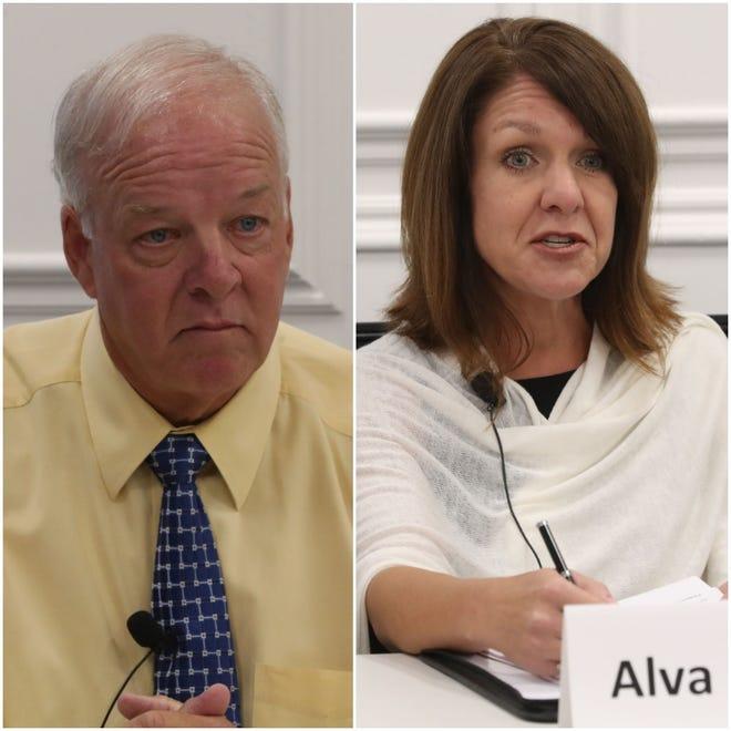 Ricky Bell challenges incumbent Alva Striplin.