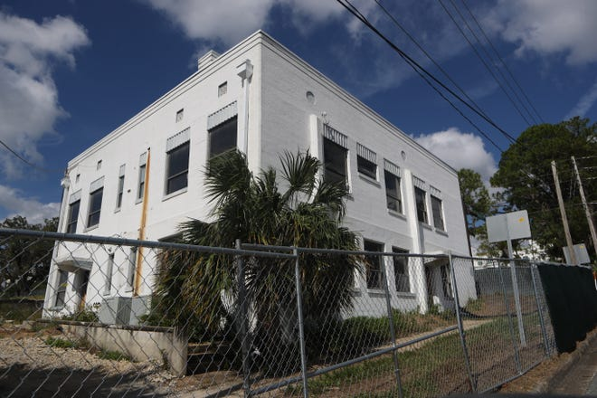 The building at 325 E. Gaines Street and the surrounding land on 309 and 401 E. Gaines Street are the future site of the mixed-use development project called the Cascades Project Thursday, Oct. 24, 2018. North American Properties is currently in the process of converting the building at 325 E. Gaines Street in Tallahassee, Fla. into a construction office for the firm to use during the building of the Cascades Project, a mixed-use development, on the surrounding land at 309 and 401 E. Gaines Street. The first phase of the project is predicted to be finished in late 2020.