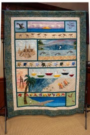 The king-sized priceless Centennial quilt.
