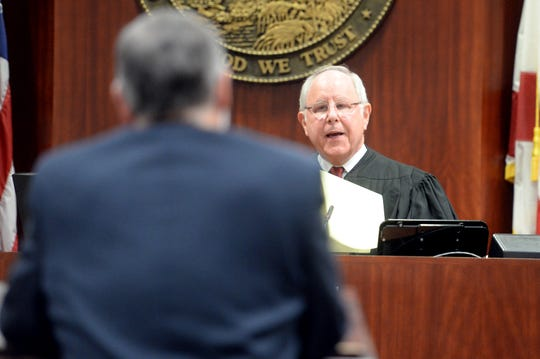 For more than two hours on Wednesday, Oct 24, 2018, Circuit Judge Paul Kanarek heard Linda Hillman argue that the Vero Beach City Council election should be called off and a special election should be ordered. Hillman has sued the City of Vero Beach for improperly removing her from the ballot as a candidate for city council.